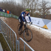 Ashley Zoerner racing at CX Worlds 2017